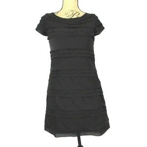 Shulami Tiered Little Black Dress (L/ fit is M)